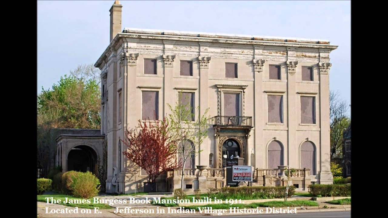 Mansions and homes of detroit 39 s richest residents youtube for Mansions for sale us