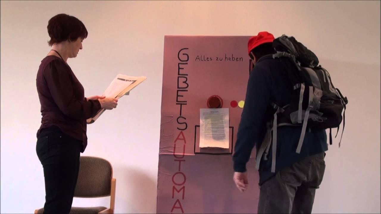 Ein lustiger Sketch: Der Gebetsautomat PS 5015 - Rufe mich an in der ...