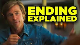 Once Upon A Time In Hollywood ENDING EXPLAINED Tarantino Timeline