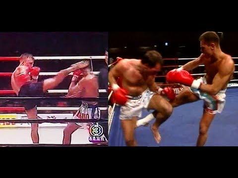 muay thai legends-Rob Kaman & Ramon Dekkers