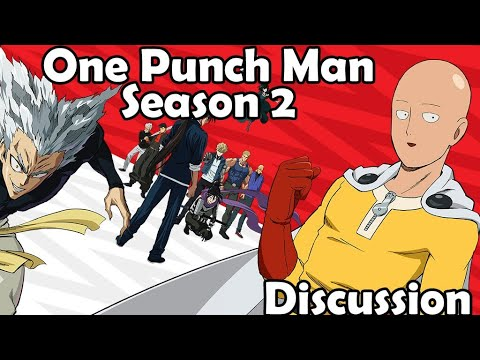 One Punch Man Season 2 Discussion