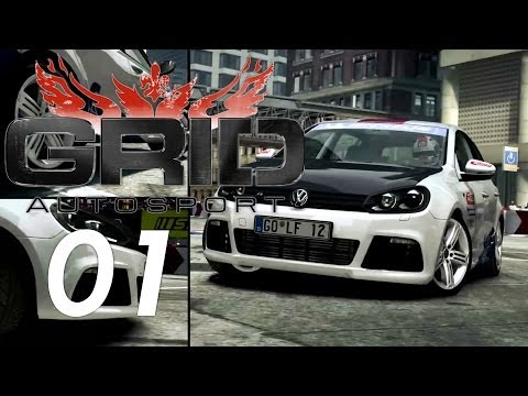 GRID: Autosport #01 - JÜRGEN am Start!! [Ultra/1080p/German] - Let's Play Grid 3 Autosport!