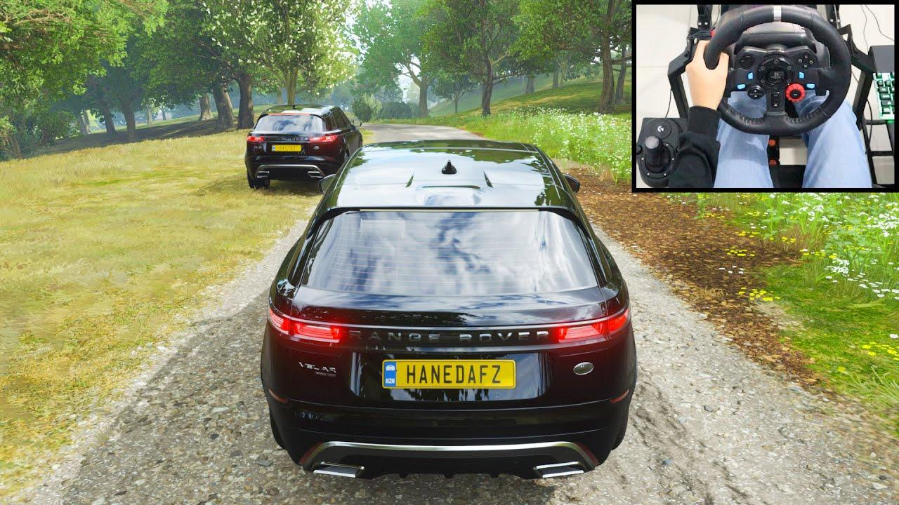 Land Rover Velar - Forza Horizon 4 Online | Logitech g29 gameplay