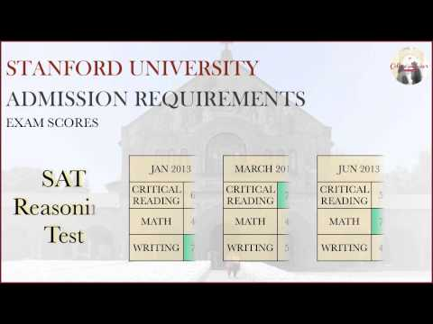 Stanford University Admission & Application Requirements - YouTube