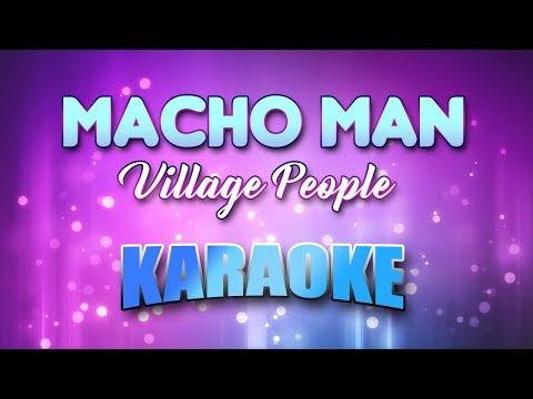 Macho Man - Village People (Karaoke Version With Lyrics)