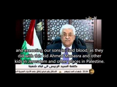 Abbas: 'Israeli government executing our sons in cold blood'