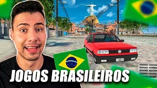 Joguei os MELHORES jogos BRASILEIROS para Android