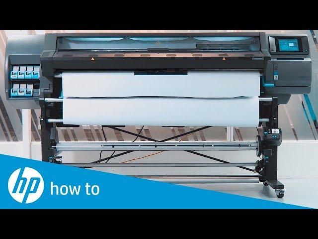 Jak drukować dwustronnie na drukarkach serii the HP Latex 300/500