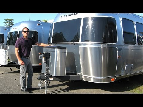 Simple Walk Through 2017 Airstream Tommy Bahama 27FB Travel Trailer Relax Edition RV Camper | FunnyDog.TV