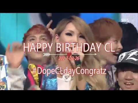 CL - The Baddest Female Stage Mix