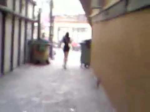 in Drunk alleyway fucks girl