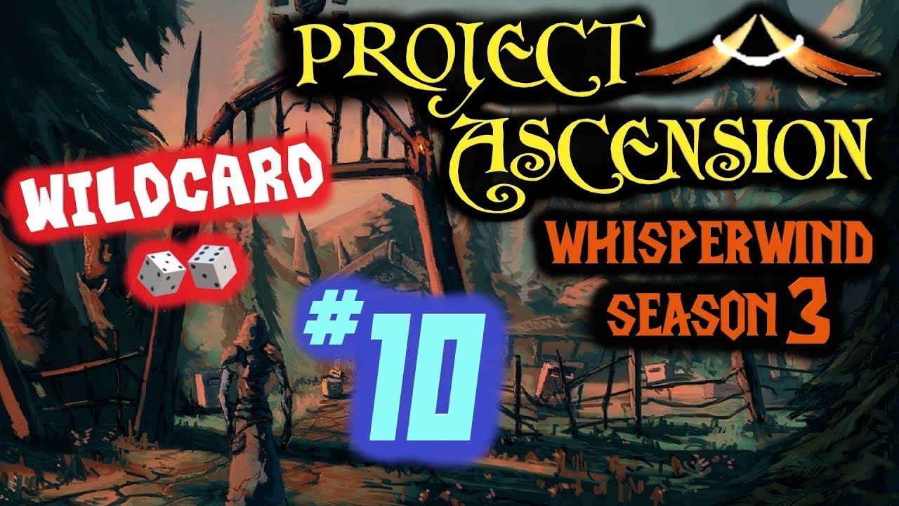 Project Ascension (Season 3) - Whisperwind Wildcard Realm! Stream #10 - 60  PvP & Leveling Alts!