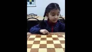 Показательный урок. Академия шахмат НСШ