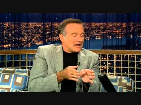 Robin Williams on 'Late Night with Conan O'Brien' - 11/14/06