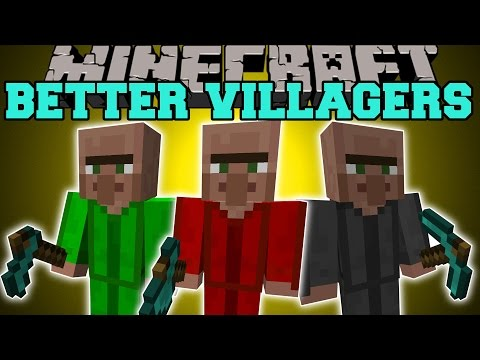 better villages minecraft 1.7.10