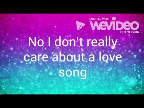 Tired of Love Songs- Jared Sosa (Lyric Video)