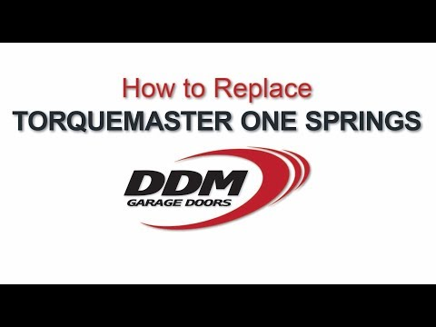 How To Replace TorqueMaster One Springs