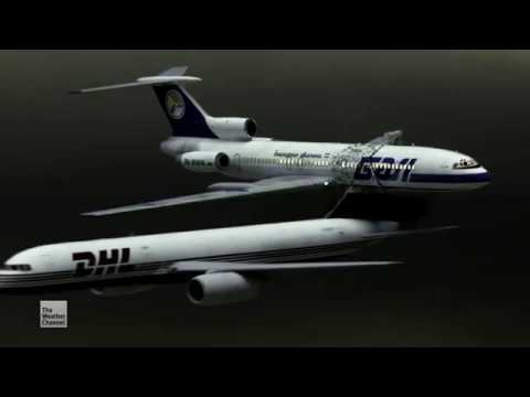 Bashkirian Airlines Flight 2937/DHL Flight 611 - Crash Animation 3