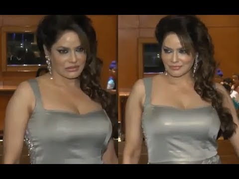Bollywood Youtube Video Actress Poonam Jhawar in Gray Colour Tight Dress