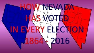 How Nevada has voted in every Presidential Election