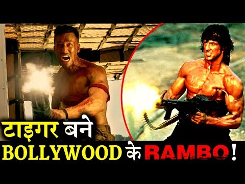 Tiger Shroff Has Become The INDIAN RAMBO of BOLLYWOOD!
