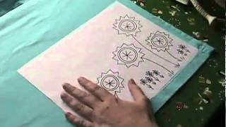 How To Transfer an Embroidery Pattern