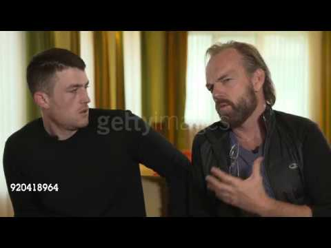 Hugo Weaving & James Frecheville  for Black 47 at the Berlinale 1