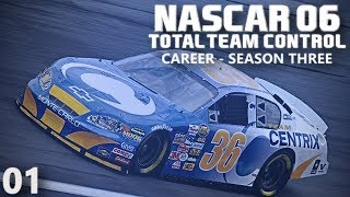 DAYTONA 500 | NASCAR 06 : Total Team Control | Career S3 E01