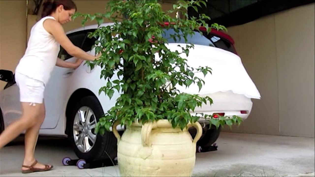 Sketty car youtube for Carrello sposta auto