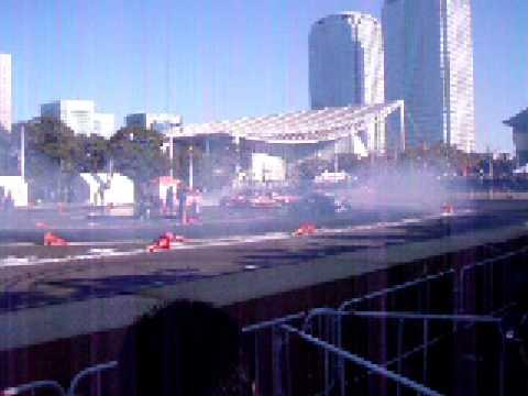 D1 Japan Team Yokohama Group Tandem Drift at TAS '09