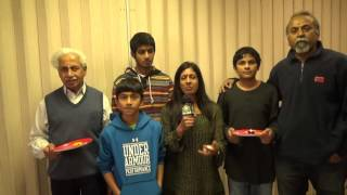 Hiranya Gowda/Kalpana Gowda Family  Interview with TV ASIA
