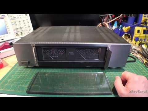Amp Rrepair Video - Carver M500t