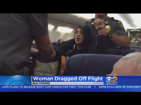 Caught On Video: Woman Dragged Off Southwest Flight