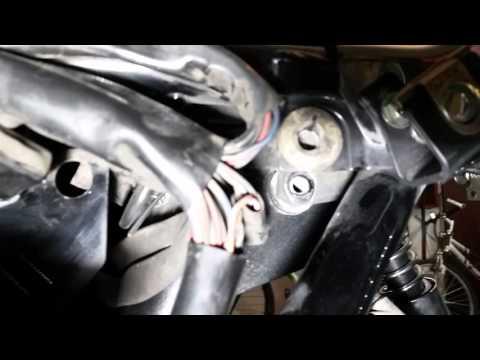 2007 Harley Street Glide rear fender removal