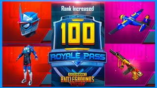 SEASON 13 ROYAL PASS : 8700 UC UPGRADE TO RP RANK 100 ( PUBG MOBILE )