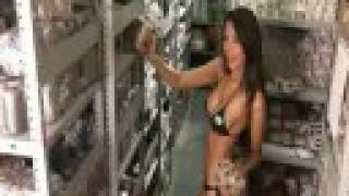 Bikini into Girls stripping