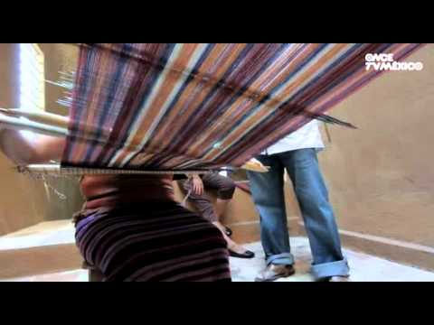 Manos de artesano - Textiles. Siete Regiones, Oaxaca (04/10/2012)