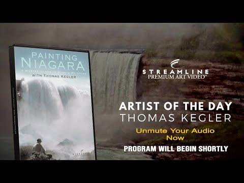 "Thomas Kegler ""Painting Niagara"" **FREE LESSON VIEWING**"