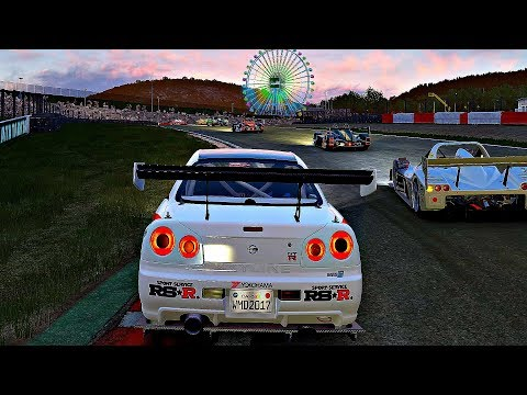 Project CARS 2 - Gameplay Nissan Skyline GT-R (R34) SMS-R @ Sakkito [4K 60FPS ULTRA]