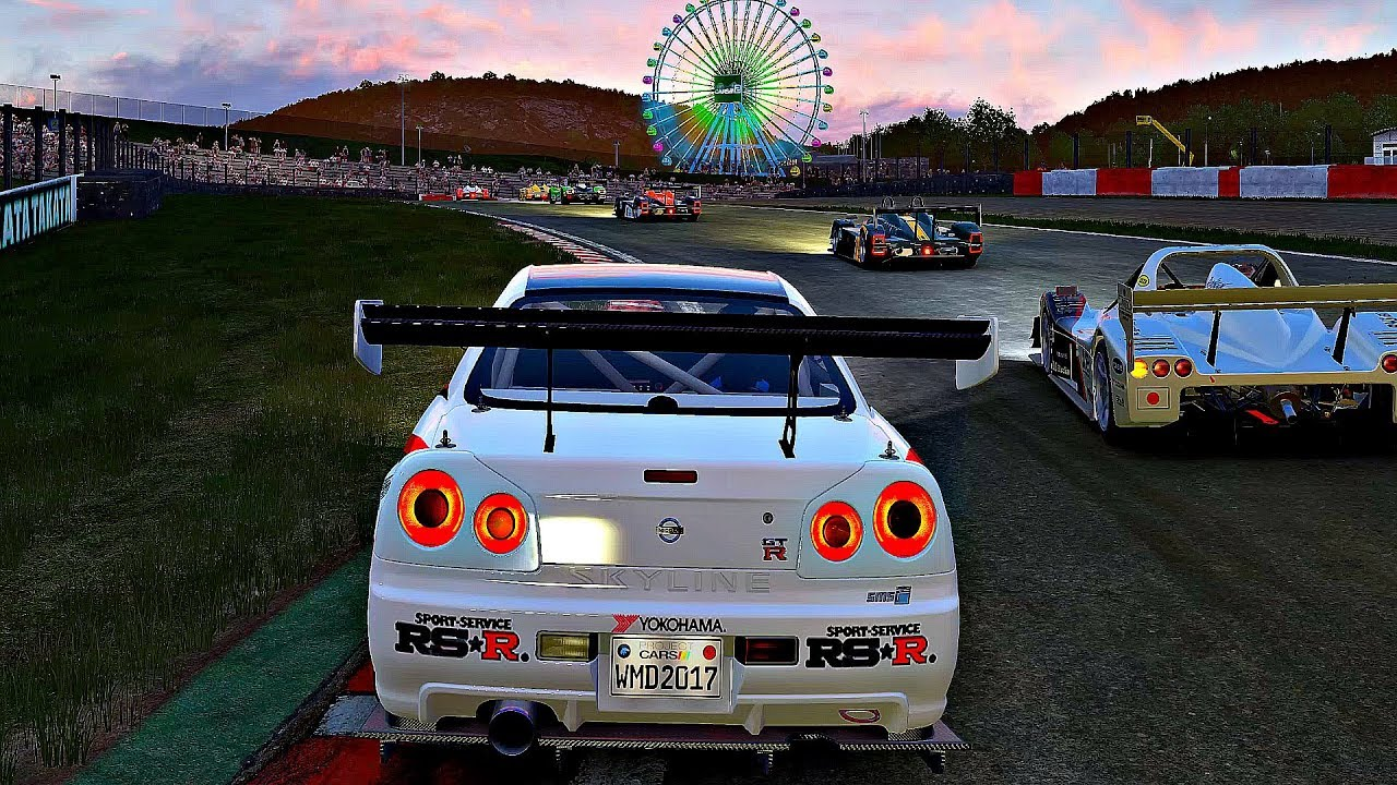 Project CARS 2 - Gameplay Nissan Skyline GT-R (R34) SMS-R @ Sakkito ...