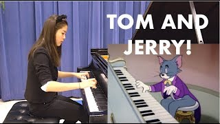 NEW! Yannie Tan plays Tom and Jerry's Johann Mouse (Strauss Medley)