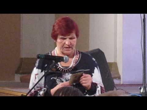 Прочла стихи о блокадном Ленинграде председатель общества блокадников в Бердске