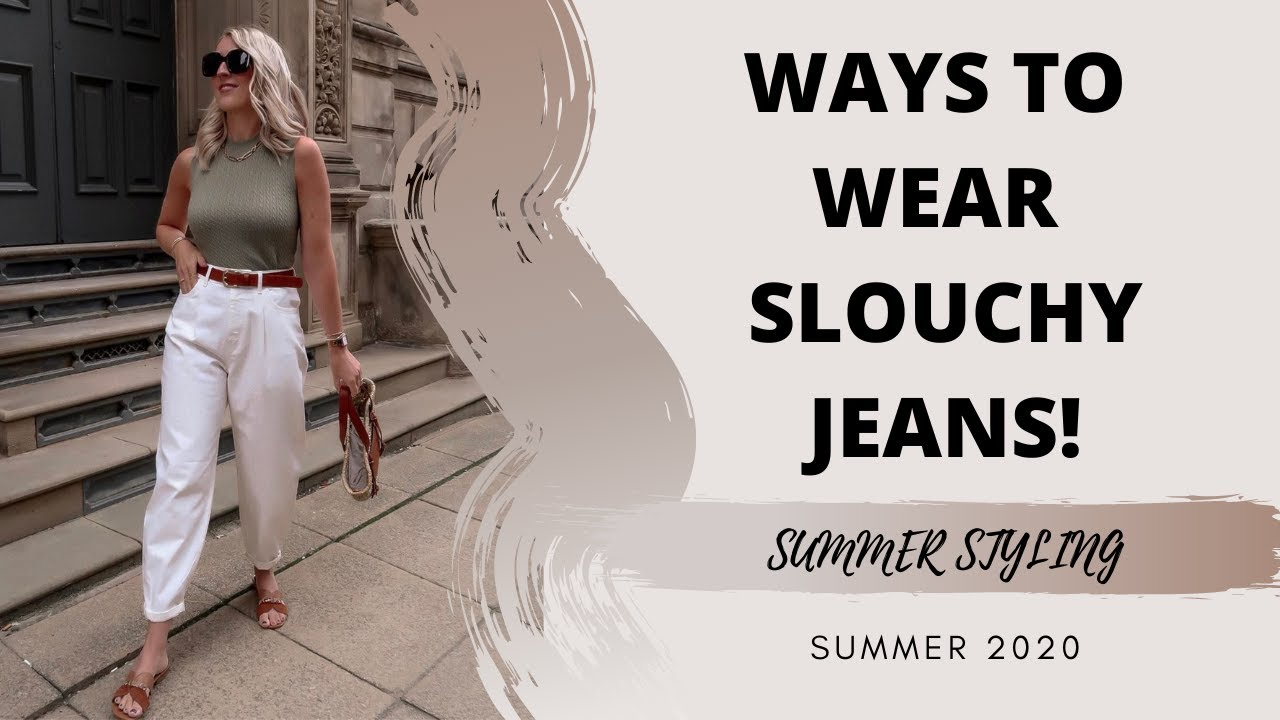 5 WAYS TO WEAR: SLOUCHY JEANS   The Silver Mermaid