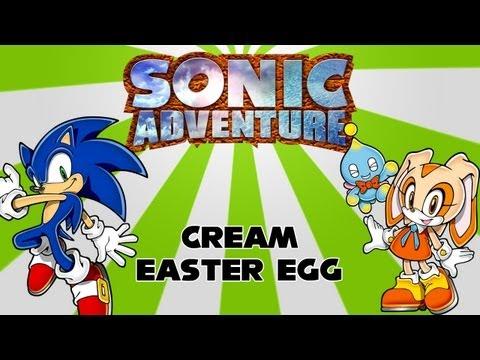 Sonic Adventure: Cream Easter Egg