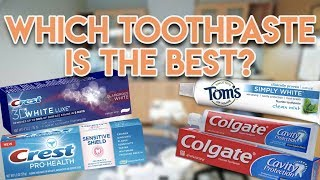 What is the BEST Toothpaste to Prevent Cavities.