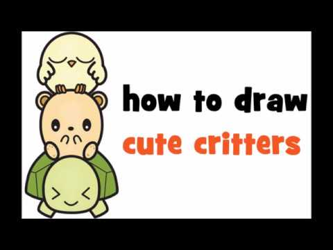 how to draw kawaii animals step by step