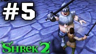 Прохождение Шрек 2 The Game - Часть 5 - Побег из тюрьмы.