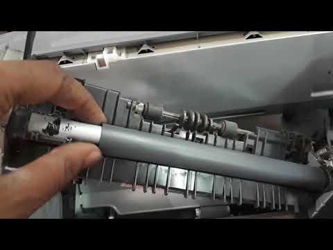 4 ways to fix and repair canon lbp 2900 laserjet || canon lbp 2900 teflon sheet replace procedure
