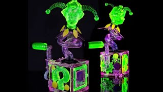 UV Glass Dab Rig Showcase & Hash Shatter Party w/ Hoobs, Coyle, Saki & D-Wreck on HashBarTV