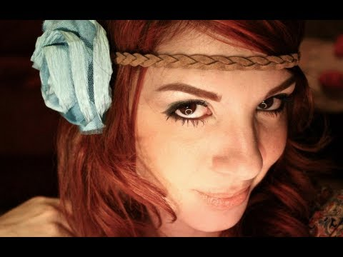 Genoeg HIPPIE 70's - Make up Tutorial - YouTube &BH53